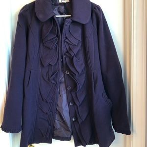 Purple Women's Coat